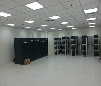 UPS cathlab installation